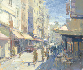 Paris Street Scene, Bye Bitney