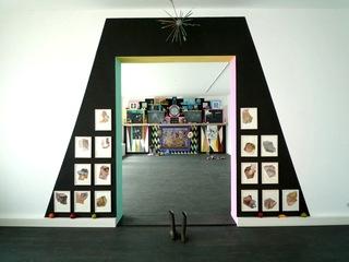"Installation view of ""Treacherous Path"", Julia Staszak"