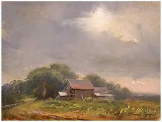 Shouth Warden Barn, Vermont, Frank Mason