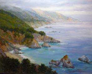 Big Sur Mist, Lynn Gertenbach