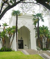 Brand Library & Art Center entrance,
