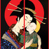 Geisha-with-child__diptych__mixed_media_on_canvas__40x60inch__102x152cm