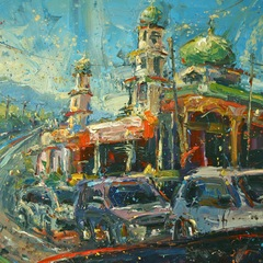 Mosque on Mountainside, Ambi Bowo