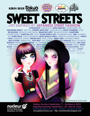 """Sweet Streets Hi-Fructose Ad Vol.16 featuring """"Tomomi do Kazuko"""" by Tansy Myer, Tansy Myer"""