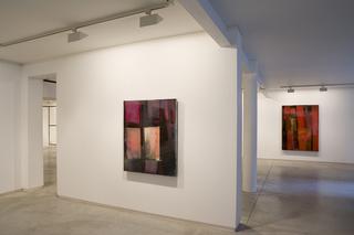"""Installation view """" TARTANS"""", Stefan Annerel"""