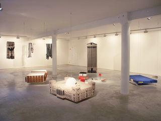 """Installation view """"Hard Work"""", Annette Streyl"""
