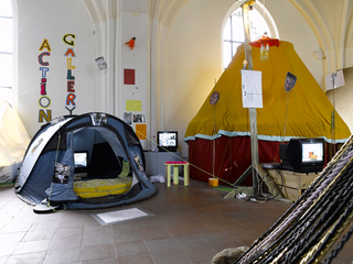Tent Show (Installation view),