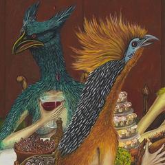 Dinner Paradiso (detail), Karena Kerras