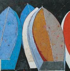 Stacked Boats II, Bruce Lauritzen