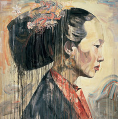Chinese Profile II, Hung Liu