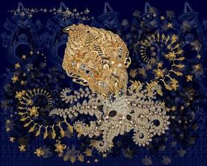 Beautiful Octopus In Her Swirling World, J.T. Burke