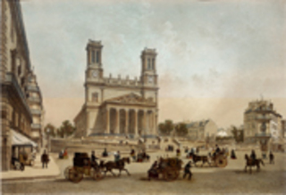 Basilica of St. Vincent, Felix Benoist