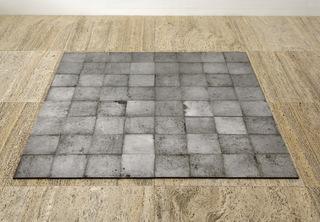 64 Square Aluminum, Carl Andre