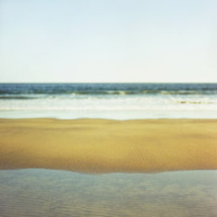 Seawall, Beach, Sand, Stacey Cramp
