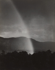 Rainbow, Lake George ,Alfred Stieglitz