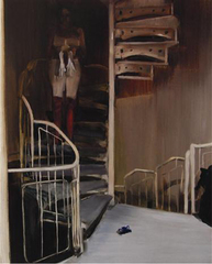 Model Descending a Staircase, Caroline Walker