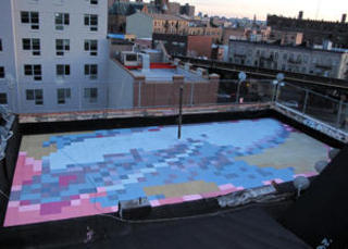 Paintings For Satellites / 16 Manhattan,Molly Dilworth