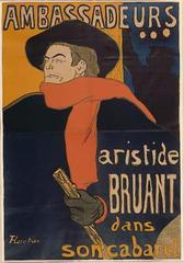 Ambassadeurs: Aristide Bruant,Henri de Toulouse-Lautrec
