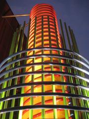 SVA theater tower, Milton Glaser