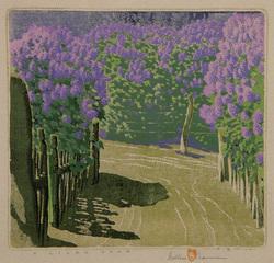 A Lilac Year, Gustave Baumann (1881 - 1971)