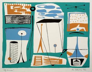 City Summer, Dorr Bothwell (1902 - 2000)