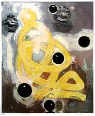 Circle Smoke and Braid, Christopher Brown (1951)