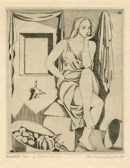 Melancholie, John Buckland-Wright (1897 - 1954)
