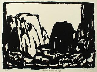 Down Zion Valley, Royden Card (1952)
