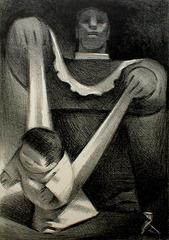 First Steps, Jean Charlot (1898 - 1979)