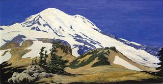 Mt. Rainier (Washington), W. Corwin Chase (1897 - 1988)