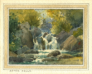Aetna Falls,Percy Grey (1869 - 1952)