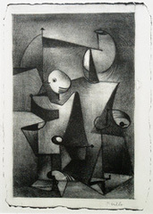 Surreal composition, John Grillo (1917)