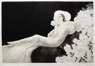 Parfum de Fleurs (Love\'s Blossom), Louis Icart (1888 - 1950)