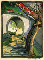 Moon Gate - Peking, Katharine Jowett (1890 - 1965)