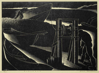 Poachers, Paul Landacre (1893 - 1963)