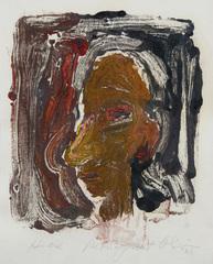 Head, Nathan Oliviera (1928)