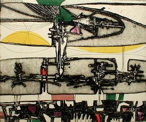 Spawning III from: Portfolio of Five Prints , Gabor Peterdi (1915 - 2001)
