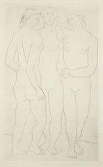 Les Trois Graces II , Pablo Picasso