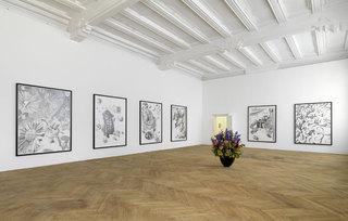 Installation view, Dennis Scholl