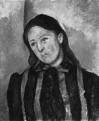 Portrait of Madame Cézanne , Paul Cézanne