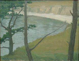 (Cove - Northern California coast), Henry Varnum Poor (1888 - 1970)