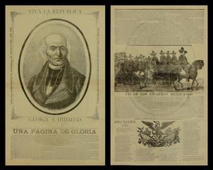 Viva la Republica - Gloria a Hidalgo / Vivan Los Charros Mexicanos, Jose Guadalupe Posada (1852 - 1913)