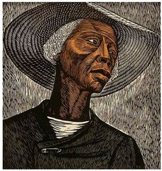 Sharecropper, Elizabeth Catlett