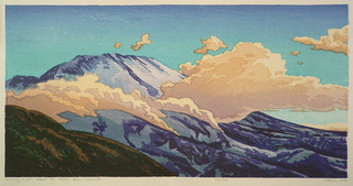 Evening Light, Mount St. Helens from Coldwater, Micah Schwaberow (1948)