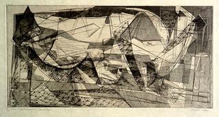 Luna Composition #2- Landscape, Doris Seidler (1912)