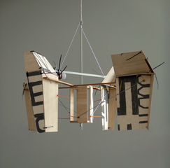 Document Shredder (reading device for a dark and wind-wracked place / seventh proto-type), Dave Hullfish Bailey