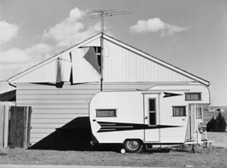 Tract House, Westminster, Colorado.George Eastman House collections, Robert Adams