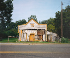 T. B Hick\'s Store, Newbern, Alabama,William Christenberry