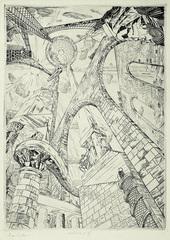 Architecture II (Tour de Babel), Roger Vieillard (1907 - 1989)