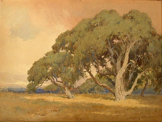 Approach of Autumn,Sydney J. Yard (1855 - 1909)